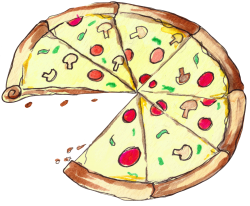 Pizza Slice Big | Artistshot