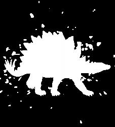 Stegosaurus Dino - Graphic Fashion T-shirt