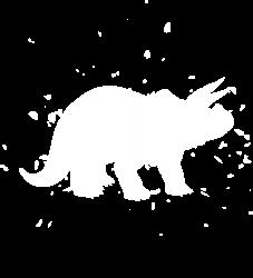 Triceratops Dinosaur - Graphic Fashion T-shirt