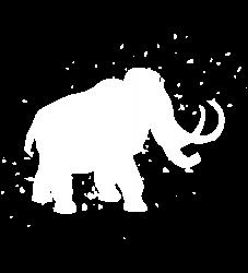 Woolly Mammoth Extinct - Graphic Fashion T-shirt