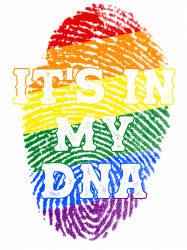 It's In My Dna Lgbt T-shirt
