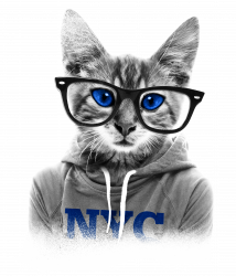 Smarty Cat Of Nyc T-shirt