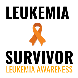 Leukemia Awareness Survivor T-shirt