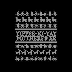 Die Hard Yippee Ki Yay Ugly Christmas T-shirt