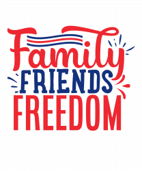 Family Friends Freedom T-shirt