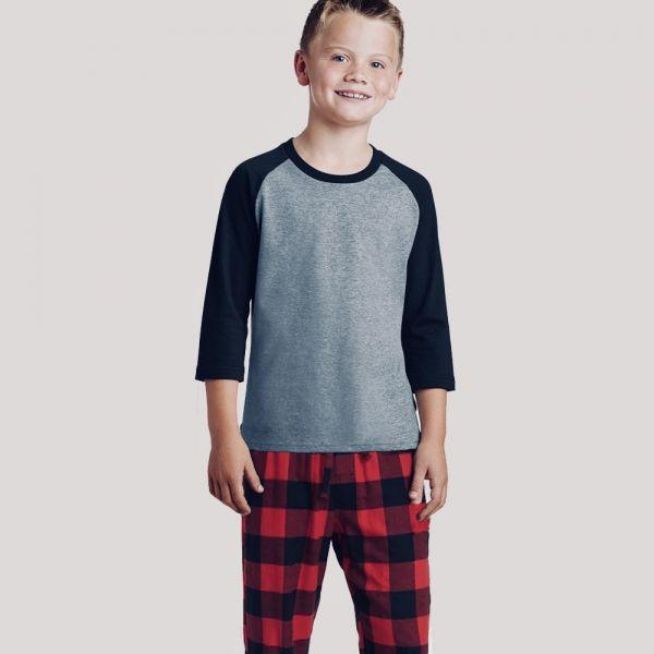 2021 Shop Youth 3/4 Sleeve Pajama Set  &   Youth 3/4 Sleeve Pajama Set