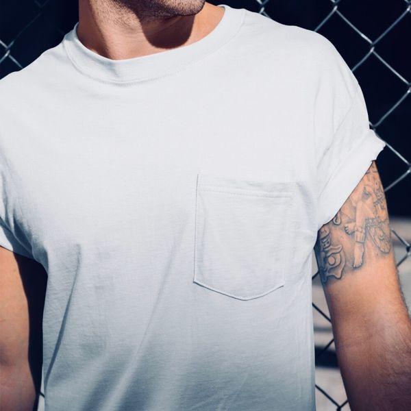 Shop Pocket T-shirts  &  Pocket T-shirts - Artist Shot
