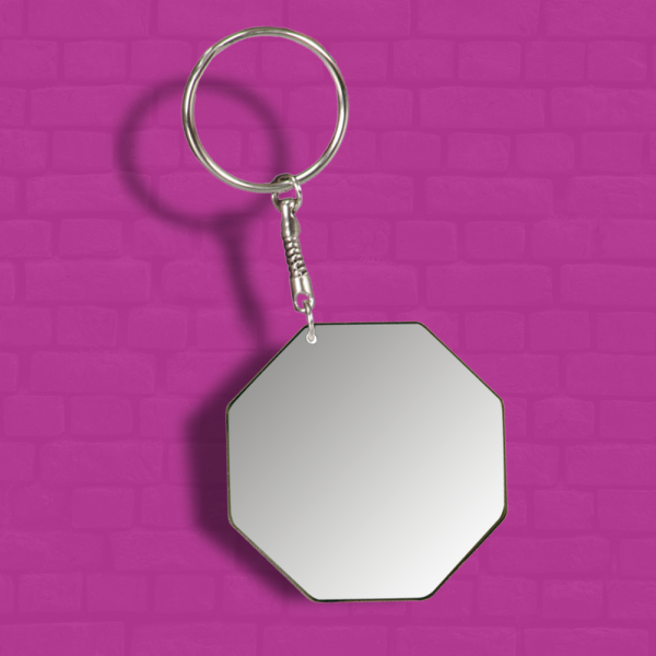 Octagon Keychain