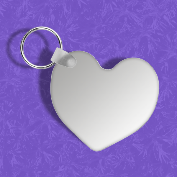 FRP Heart Keychain