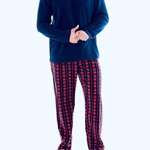 Shop Men's Long Sleeve Shirt Pajama Set &   2021 Men's Long Sleeve Shirt Pajama Set