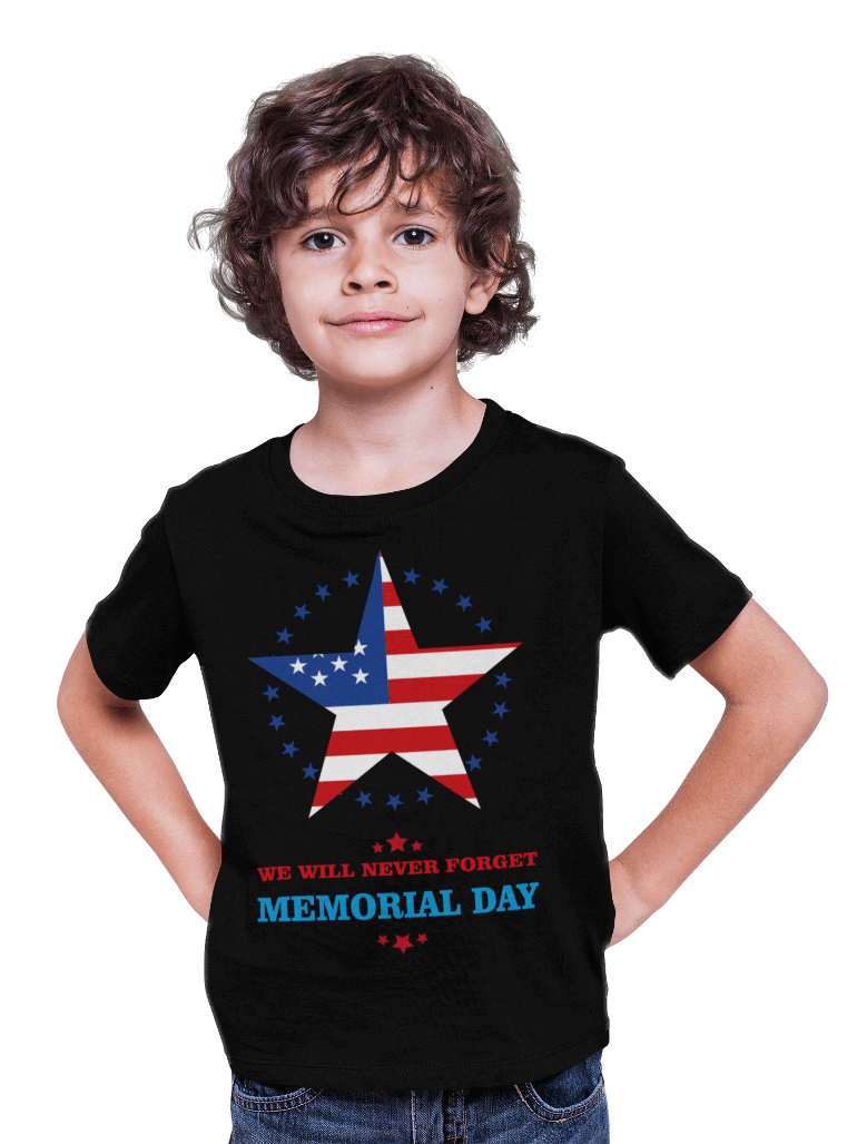 Memorial Day Kids T-Shirts