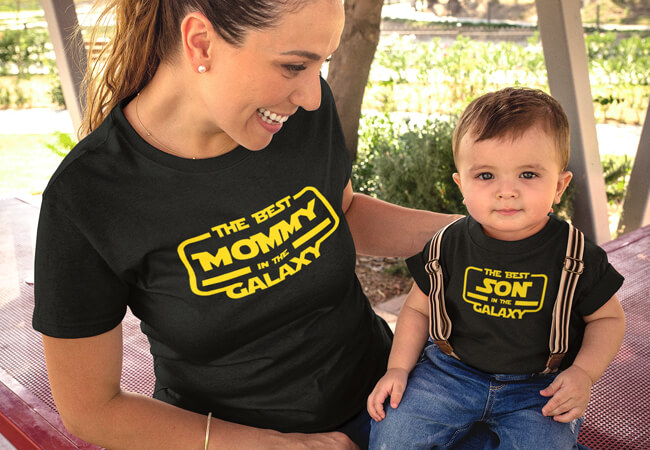 Custom Mother and Son T-shirts | Artistshot
