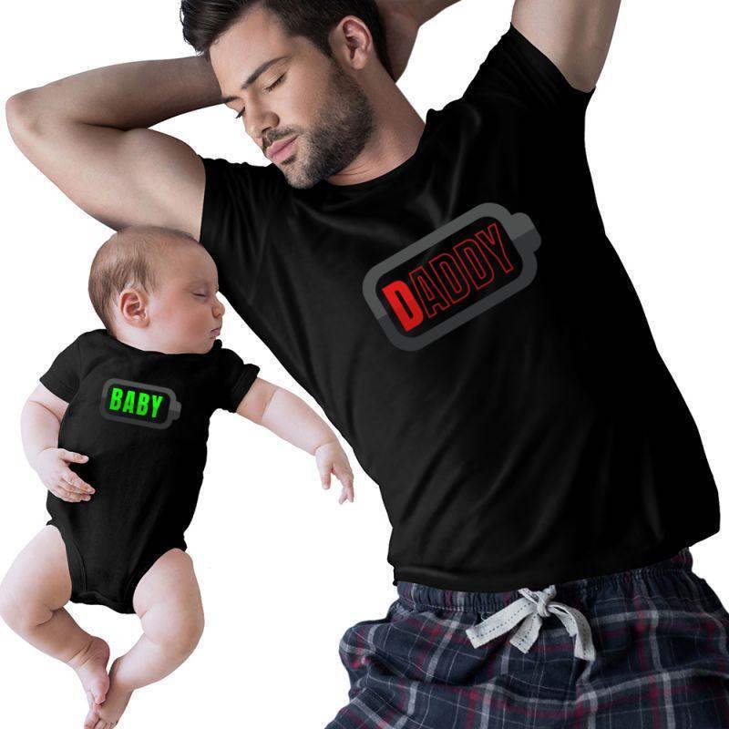 Father & Baby Battery | Artistshot