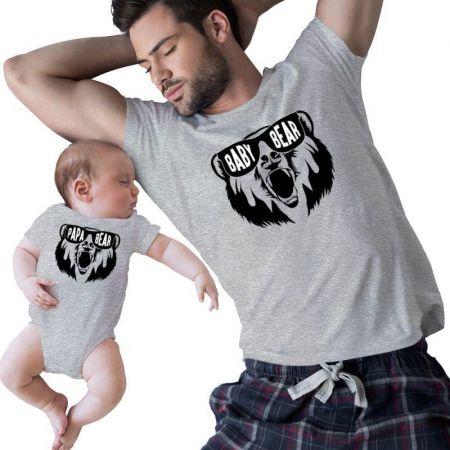 Baby & Papa Bear Matching Shirts