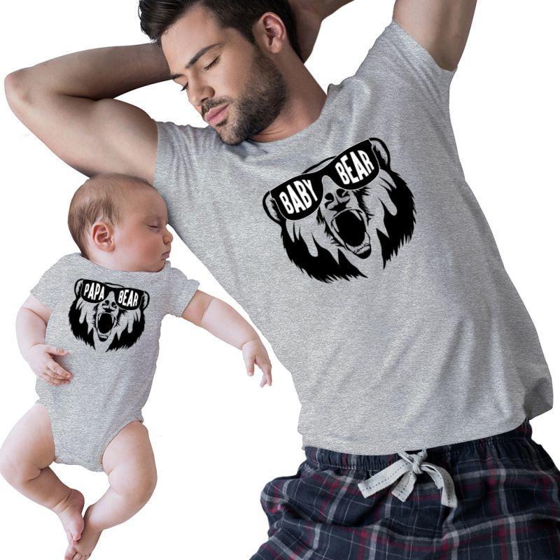 Baby & Papa Bear   Artistshot