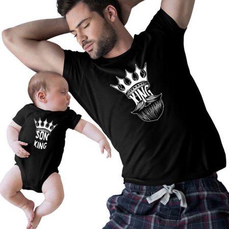 King & Son of A King Matching Shirts