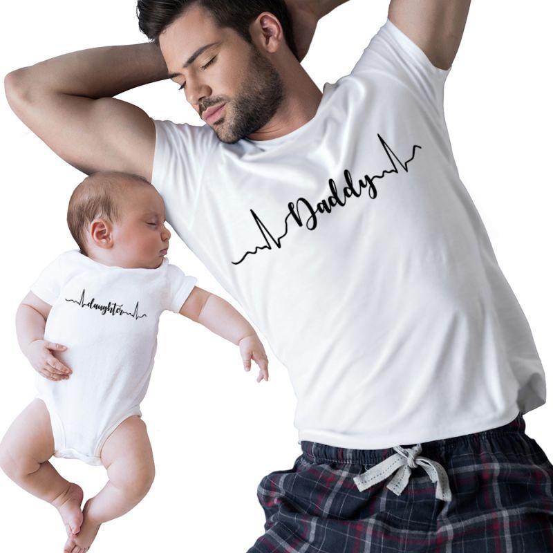 Daughter & Daddy Heartbeat   Artistshot