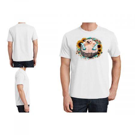 Sunflower Leopard Hedgehog T-Shirt Limited Edition
