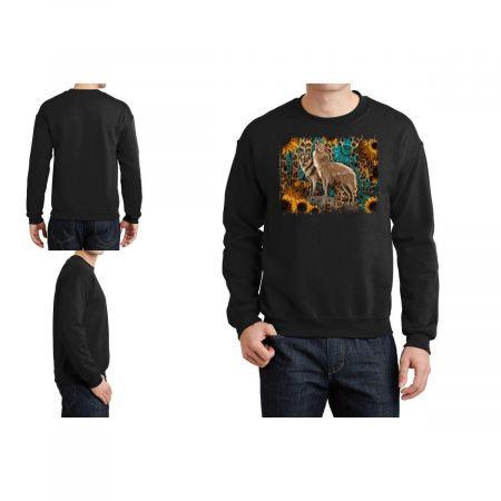 Western Wolves Crewneck Sweatshirt Limited Edition